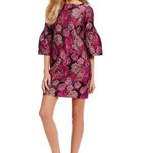 Badgley Mischka Belle  jacquard sharon dress